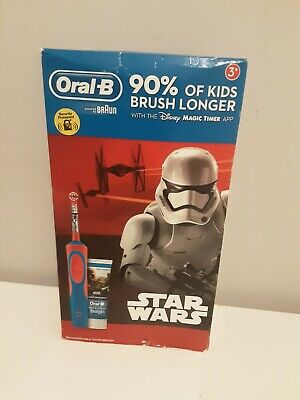AU27.99 • Buy Oral-B Stages Power Kids Electric Toothbrush And Toothpaste Gift Set - Star Wars