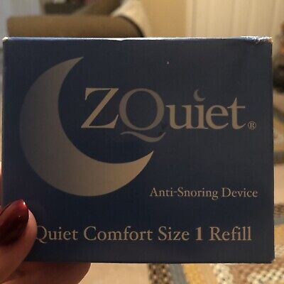 $ CDN57.09 • Buy ZQUIET Original Anti-Snoring Mouthpiece Sealed New, Comfort Size #1 Refill
