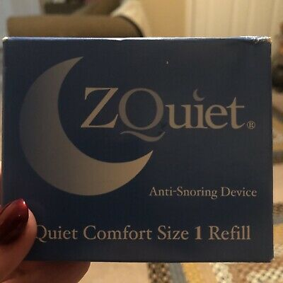 $ CDN56.73 • Buy ZQUIET Original Anti-Snoring Mouthpiece Sealed New, Comfort Size #1 Refill