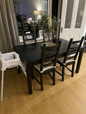 Ikea Extendable Dining Table And Chairs • 25£