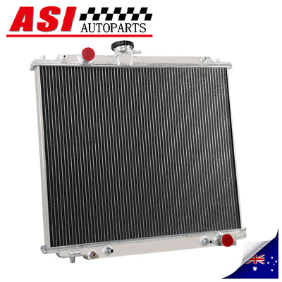 AU199 • Buy 3 Row Radiator For AT/MT Mitsubishi Pajero 2.8L 4M40 Turbo Diesel NJ NK NL 94-00