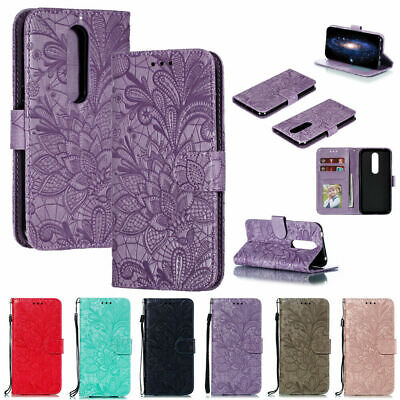 AU12.39 • Buy Leather Case For Nokia 1.3 2.3 7.2 4.2 7.1 3.2 2.2 1Plus  Patterned Wallet Cover