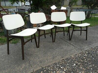 AU80 • Buy 4 Mid Century Dining Chairs