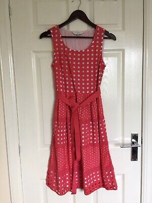 ROCHA.JOHN ROCHA Debenhams Ladies Sleeveless Belted Lace Dress UK Size 8  • 10£