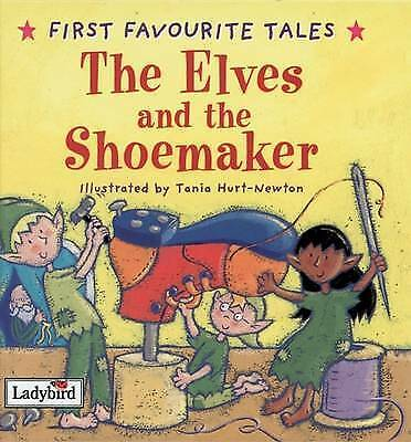 LADYBIRD  FAVOURITE TALES--the Elves And The Shoemaker ( HARDBACK  2016 ) • 1£