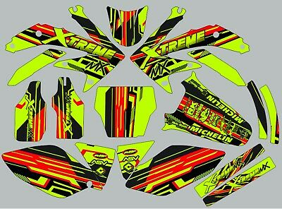 $95.99 • Buy Graphic Kit For Honda CRF450 CRF 450 2005-2008 Decals Stickers Graphics