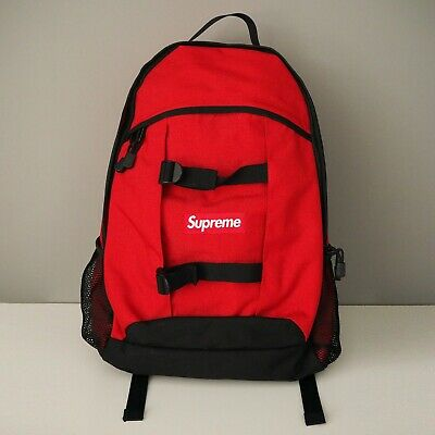 $ CDN375.02 • Buy Supreme Backpack SS14 Cordura Red
