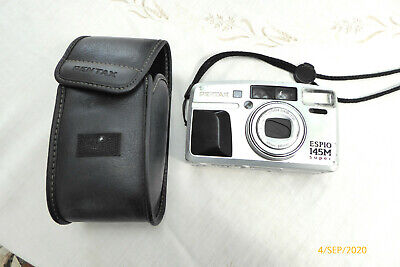 Old Pentax Camera Espio 145m Super - I Don't Think It Works - Spares For Anyone? • 9.99£