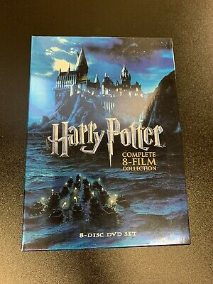 $ CDN21.56 • Buy Harry Potter: Complete 8-Film Collection (8-Disc DVD Box Set, 2011)