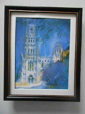 £19.95 • Buy Peter Hume Cathedral Print 'Ely' FRAMED