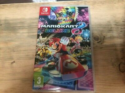 Mario Kart 8 Deluxe Video Game For Nintendo Switch • 21£
