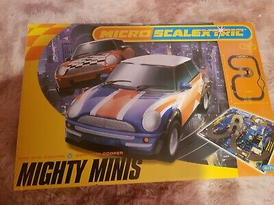 Mighty Minis 1:64 Micro Scalextric (Hornby, 2006) BMW Race Track Mini Cooper  • 0.99£