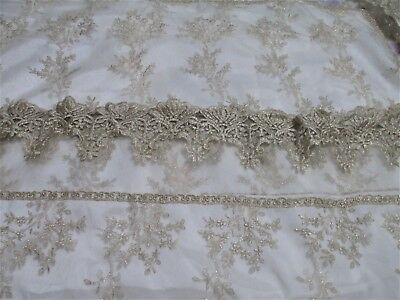 Stunning Gold Lace Bedspread In Renaissance Style • 77.08£