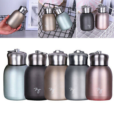 £6.79 • Buy Small Mini Travel Drink Mug Coffee Cup Stainless Steel Vacuum Flask Thermos Cup