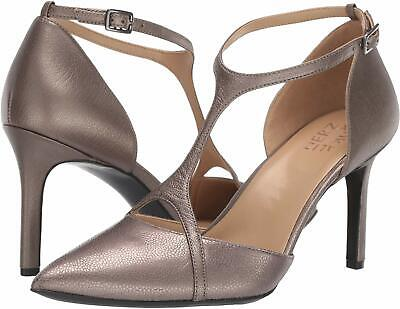 Naturalizer Women's Shoes Andrea Leather Pointed Toe, Pewter Lthr, Size 8.0 PHPj • 24.14£