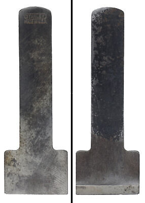 Orig. Cutting Iron For Stanley No. 75 Bullnose Block Plane- Notched-mjdtoolparts • 11.94£
