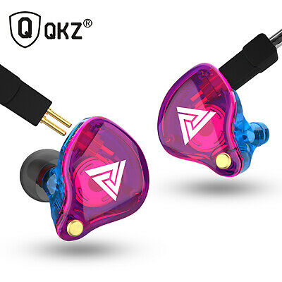 $ CDN26.25 • Buy QKZ VK4 3.5mm Wired Headphones In-ear Sports Headset Moving Coil Music N7B6