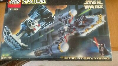 Lego Star Wars TIE Fighter And Y-Wing • 15£