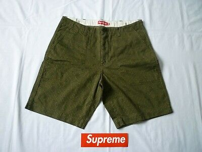 $ CDN81.60 • Buy Supreme Military Short Olive Camo Size 34 Pre-owned Lightly Used S/S 2014