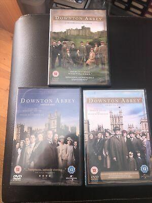 DOWNTOWN ABBEY DVDS SERIES 1 &5 And A MOORLAND HOLIDAY • 6.99£