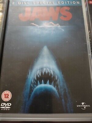Jaws DVD Very Good Condition 2 Disc Special Edition • 2.50£