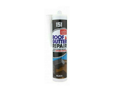 £4.99 • Buy  Roof & Gutter Sealant Waterproof Silicone Cartridge All Weather Shed - Black