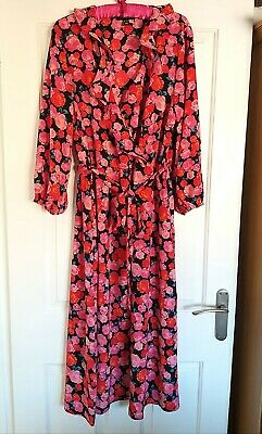 New Look Floral Wrap Dress 18 • 5£