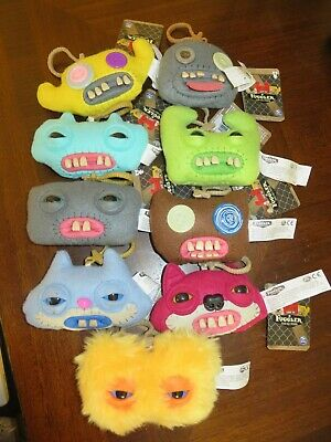 $ CDN30.45 • Buy Lot Of (9) Spin Master Fuggler Funny Ugly Monster Plush Clip On