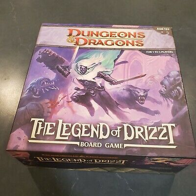 AU29.36 • Buy Dungeons & Dragons: The Legend Of Drizzt Board Game NO MINIS
