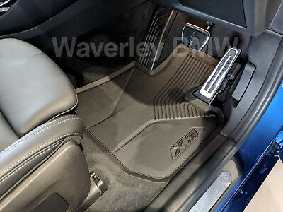 AU261.60 • Buy New Genuine BMW X3 All Weather Floor Mat Set G01 Part 51472450513 Rubber Protect
