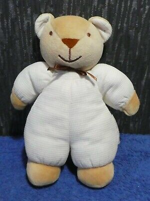 £10 • Buy Baby Comforter Rattle Soft Plush Teddy Bear From Noukie's AM Toys Belgium