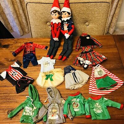 AU13.99 • Buy Elf On The Shelf Clothes Without Box