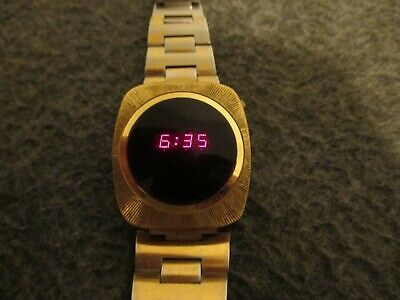 $ CDN126.20 • Buy 1970s  MWC  RED LED MENS DIGITAL WATCH ALL ORIGINAL- NEW BATTS/FULLY FUNCTIONING