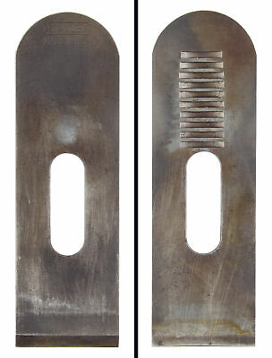 Orig. 1 3/8  Cutting Iron For Stanley 203 Block Plane - Notched - Mjdtoolparts • 13.39£