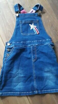 Girls Joules Dungaree Dress Size 7-8 • 4.20£