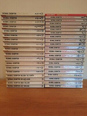 Richmal Crompton - Just William Series - Full Set 39 Novels 1980's & 1990's • 50£