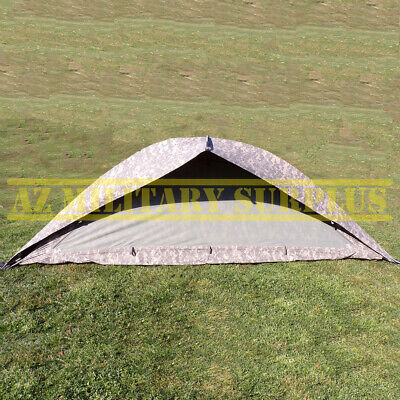 $137.86 • Buy Us Military One Man Tent Improved Combat Shelter W/poles,stakes & Pouch:  Good !