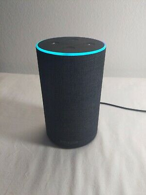 AU44.84 • Buy Amazon Echo (2nd Generation) Smart Assistant - Charcoal Fabric