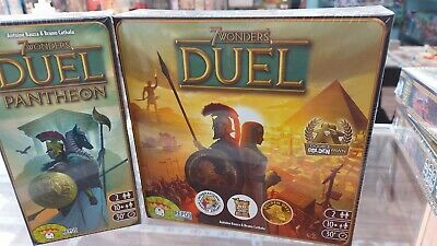 $ CDN120 • Buy  Repos Production, 7 Wonders Duel Base Game And  Pantheon Expansion