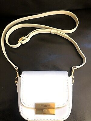 AU479 • Buy Authentic Saint Laurent YSL Betty Mini Satchel Bag In Smooth Leather