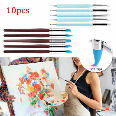 £6.89 • Buy 10PC Polymer Clay Tools Modelling Sculpting Tool Pottery Models Art Projects Set
