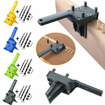 £9.30 • Buy 8X Handheld Woodworking Drill Hole Guide Wood Dowel Saw Doweling Jig Drill