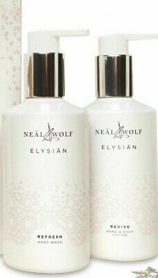 £15.95 • Buy  NEAL & WOLF Elysian   REFRESH Hand Wash  & REVIVE Lotion  250ml Each Summer!