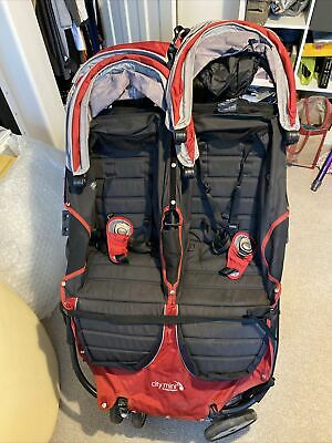 Baby Jogger City Mini Double Pushchair - Red - Twins • 30£