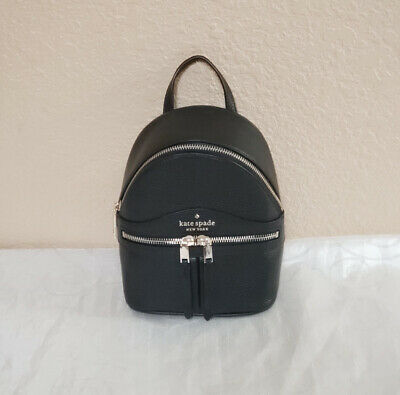 $ CDN144.12 • Buy NWT Kate Spade Karina Mini Convertible Backpack Crossbody Black Handbag Bag