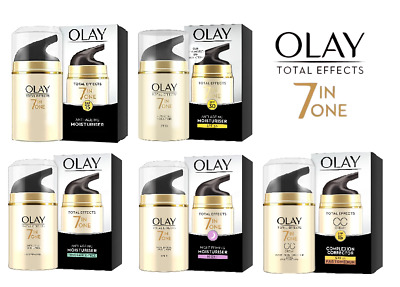 AU16.08 • Buy OLAY Total Effects 7 In ONE Anti-Ageing Moisturiser-SPF, NIGHT, FRAGRANCE FREE