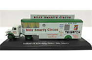 £7 • Buy Oxford Diecast Bedford OX Truck Booking Trailer Billy Smarts Circus 1:76 HU03 Gj