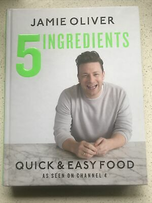AU32 • Buy NEW 5 Ingredients - Quick & Easy Food By Jamie Oliver P/U Avail. Blackburn Nth