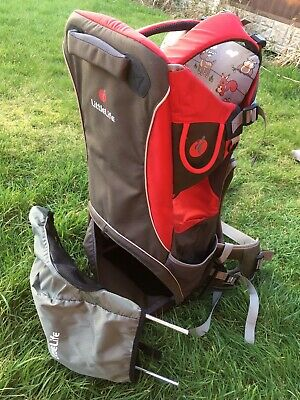 Little Life Backpack Baby Carrier Child 20kg Cross Country S2 Red Grey • 45£