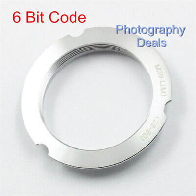 $9.49 • Buy 6-Bit Code M39-LM Adapter For Leica M39 LTM 28-90mm Screw Lens To Leica M M5 MP